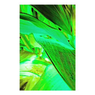 Glowing Vegetation Stationery Paper