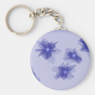 Glowing Violets Key Ring