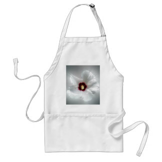 glowing white petals standard apron