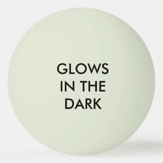 "Glows - Glow-in-the-Dark ""Green"" Ping-Pong Ball"