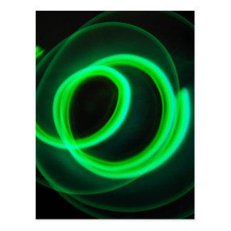Glowstick Motion Postcard