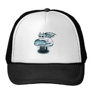 Glowy Dragon Trucker Hat