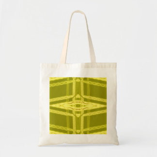 Glowy Eye - Weird Yellow Abstract Tote Bags