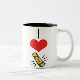 glue-stick Two-Tone coffee mug