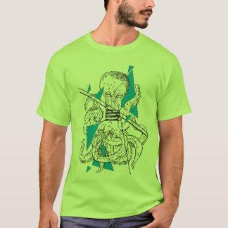 Glühkraken Octopus bulb shirt gentlemen