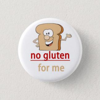 Gluten Allergy Alert 3 Cm Round Badge