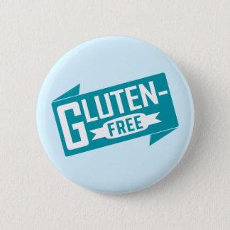 Gluten Free 6 Cm Round Badge