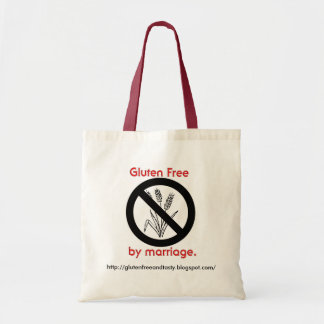 Gluten Free by Marriage tote