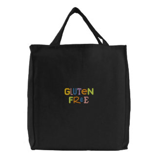 Gluten Free Embroidered Tote Bag