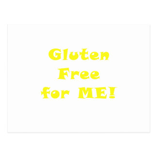 Gluten Free for Me Post Card