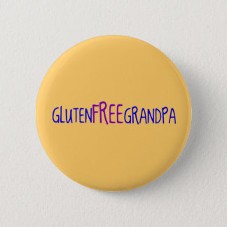 Gluten Free Grandpa 6 Cm Round Badge