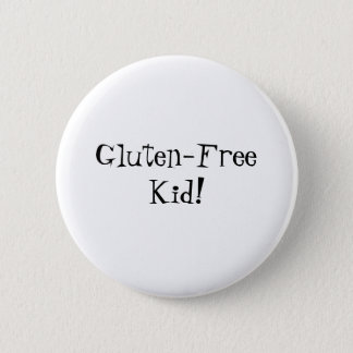 Gluten-Free Kid Button