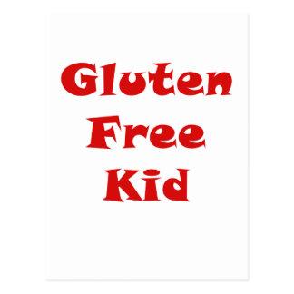 Gluten Free Kid Postcard
