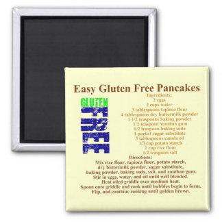 Gluten Free Pancake Recipe Magnet