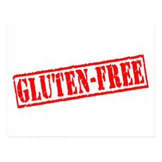 Gluten free stamp postcard