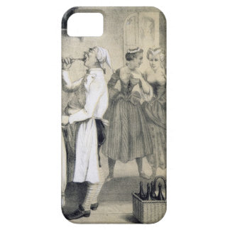 Gluttony in the Kitchen, from a series of prints d iPhone 5 Covers
