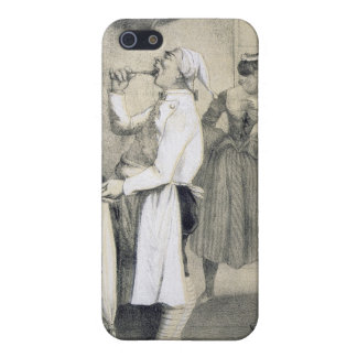 Gluttony in the Kitchen, from a series of prints d iPhone 5 Cases