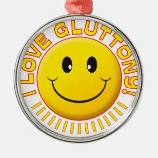 Gluttony Love Smile Christmas Ornaments