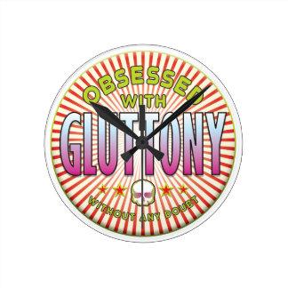 Gluttony Obsessed R Wallclocks