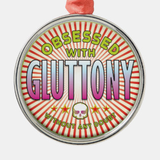 Gluttony Obsessed R Christmas Tree Ornament