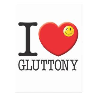 Gluttony Postcard