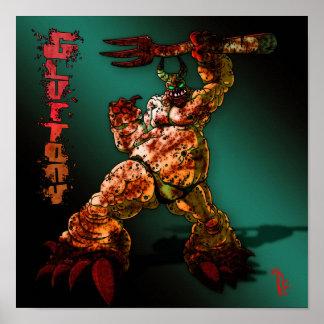 Gluttony Poster (12x12)