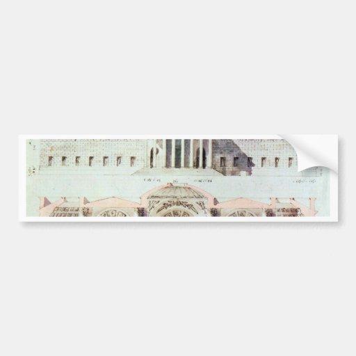 Glyptotek In Munich By Klenze Leo Von (Best Qualit Bumper Sticker