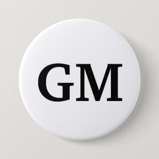 GM Button
