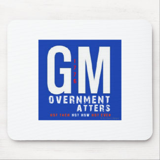 GM Government Matters Mouse Pad