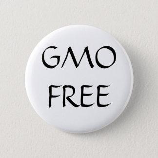 GMO FREE 6 CM ROUND BADGE