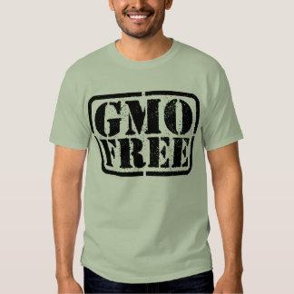 GMO Free - Black Tshirts
