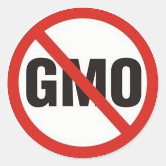 GMO Free Classic Round Sticker