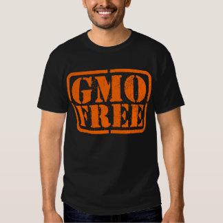 GMO Free - Orange Shirts