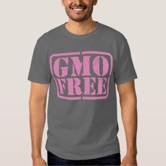 GMO Free - Pink T Shirts