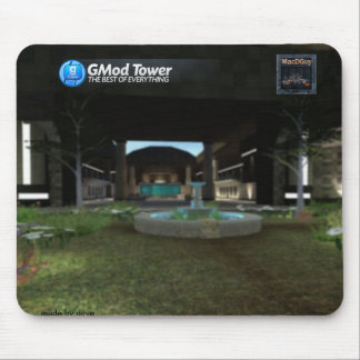 GMod Tower mouse pad