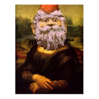 Gnome-A-Lisa Postcard