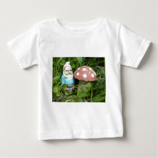 Gnome and Toadstool Baby T-Shirt