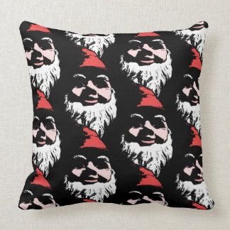 Gnome Army TP Black Throw Pillow
