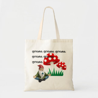 gnome gnome gnome gnome tote bag