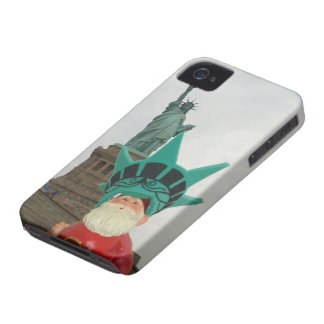 Gnome in New York City! iPhone 4 Covers