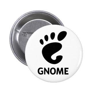 GNOME Logo 6 Cm Round Badge