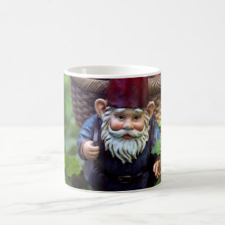 Gnome on the roam coffee mug
