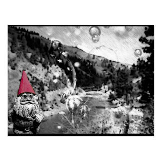 Gnome on the Roam Post Card