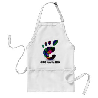 GNOME Place Like LINUX Adult Apron