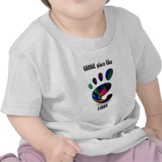 GNOME Place Like LINUX Shirt