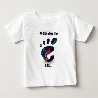 GNOME Place Like LINUX T-shirts
