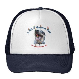 Gnome Run Home Run Dog Hats
