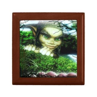 Gnome Sweet Gnome Small Square Gift Box