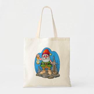 gnome tote bag