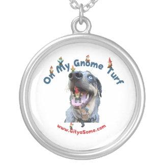 Gnome Turf Dog Necklace
